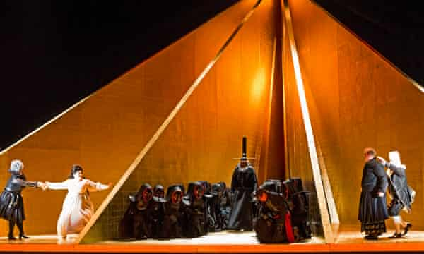 English National Opera's production of Wagner's Tristan und Isolde.