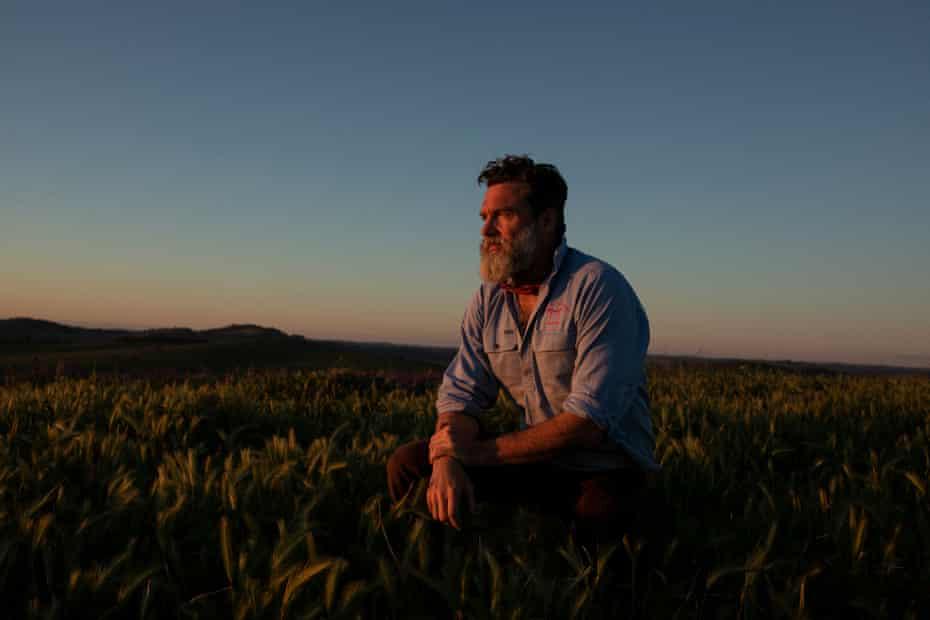 Charlie Arnott, a regenerative and biodynamic farmer