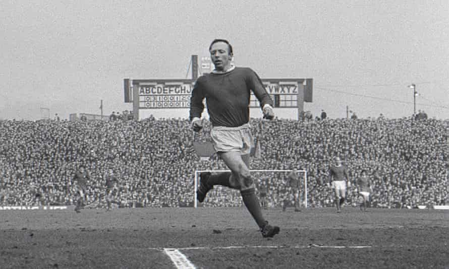 Nobby Stiles pictured at Old Trafford in March 1968.