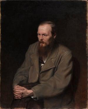 Fedor Dostoevsky, 1879 by Vasily Perov.