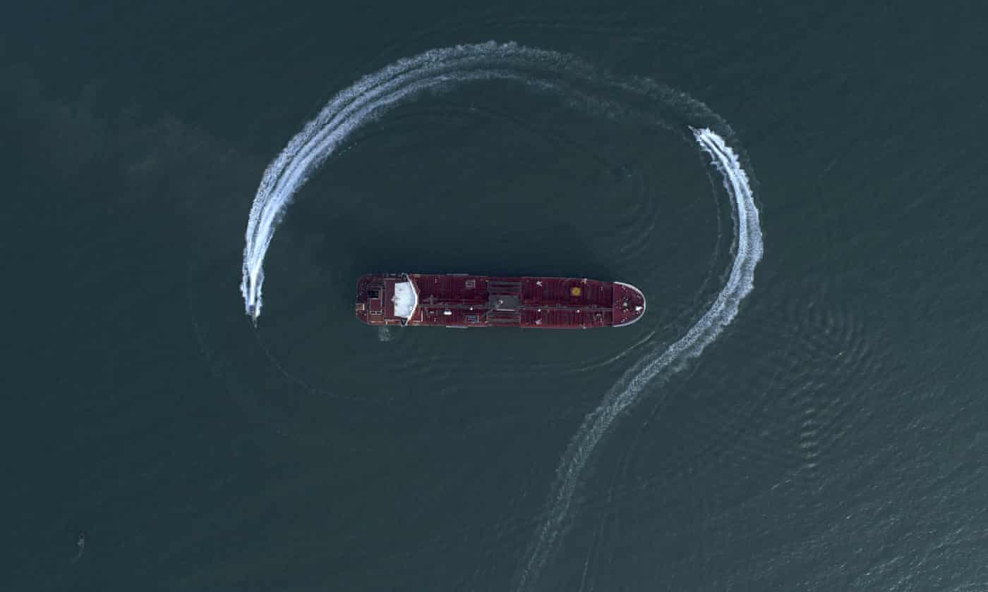 Iran says UK-flagged tanker seized in July is free to leave
