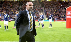 Steve Clarke: ''The players will go back to their clubs, they will all be playing at the weekend. My job is to stew on this and try to improve us.'