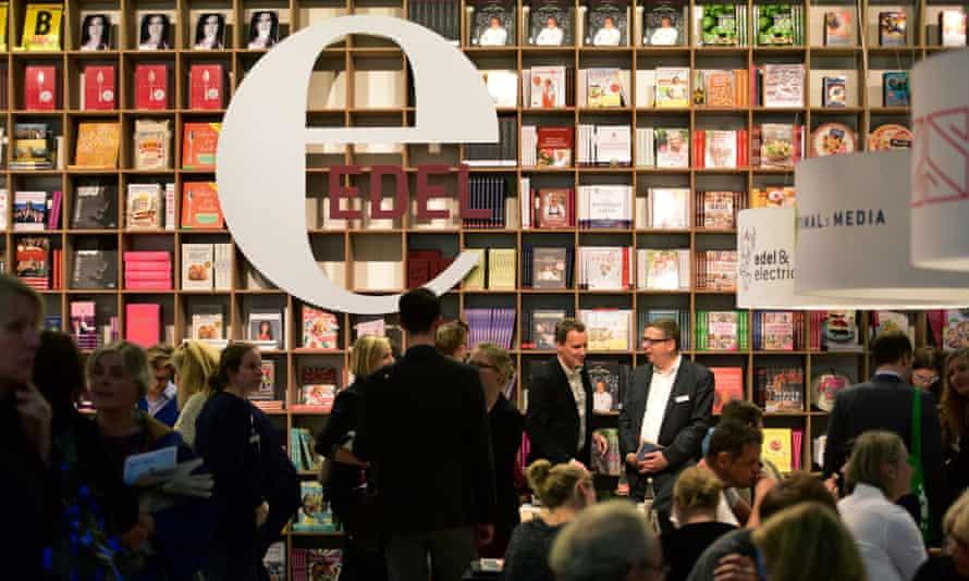 Visitors to the 2015 Frankfurt book fair.