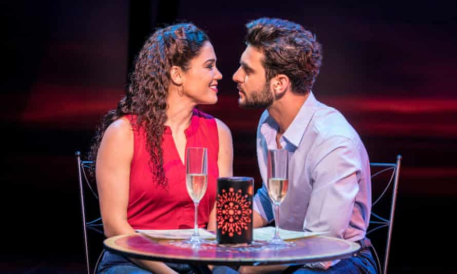 Christie Prades and George Ioannides in On Your Feet!