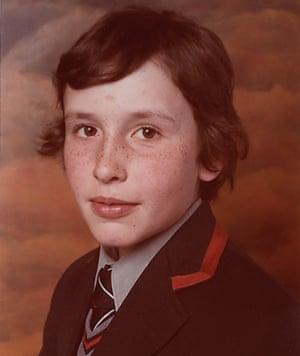 Steve Coogan in school uniform