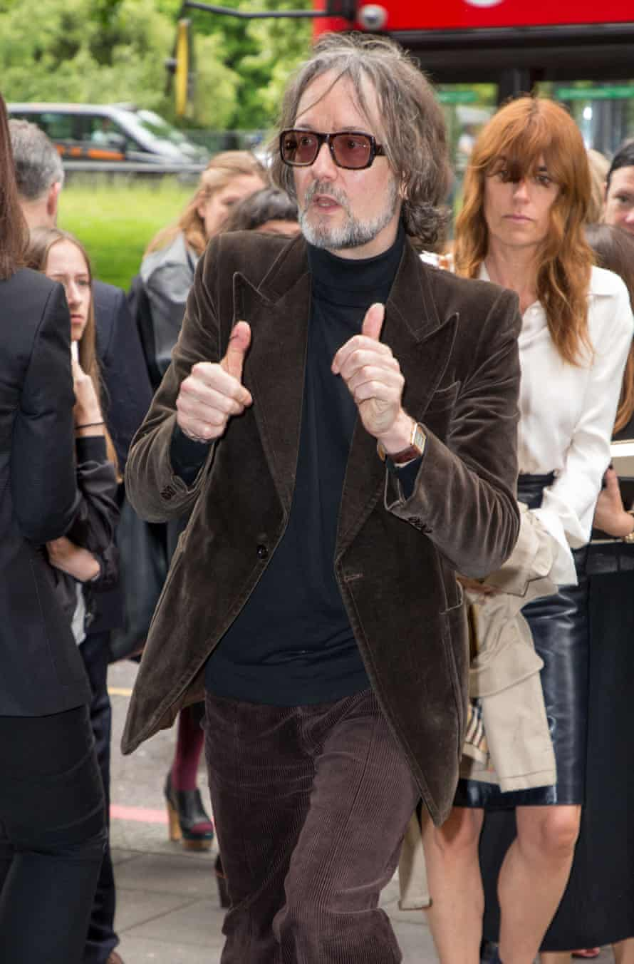 Jarvis Cocker on his way to the ceremony.