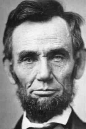 Abraham Lincoln, seen in November 1863.