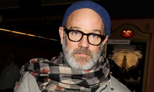 Unimpressed with musical politicking … REM's Michael Stipe.