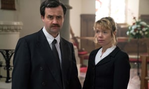 Daniel Mays as Collin Parry and Anna Maxwell Martin as Wendy Parry.