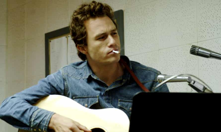 Heath Ledger as Dylan I'm Not There.