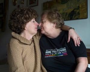 Stella Marchi, 65, and Paola Fognani, 73: Rome, Lazio