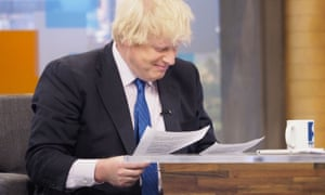 'Peston On Sunday' TV show, London, UK - 21 May 2017EDITORIAL USE ONLY. NO MERCHANDISING Mandatory Credit: Photo by Ken McKay/ITV/REX/Shutterstock (8826376aa) Boris Johnson 'Peston On Sunday' TV show, London, UK - 21 May 2017 On Peston on Sunday this weekend, Robert Peston and Anushka Asthana will be joined by: Foreign Secretary Boris Johnson, Shadow International Trade Secretary Barry Gardiner, Co-leader of the Green Party Caroline Lucas, Actor & Hacked Off campaigner Hugh Grant, Conservative Sir Nicholas Soames and Labour's Jess Philips.