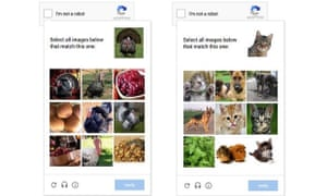 Picture matching is faster and easier for humans, but remains hard for robots.