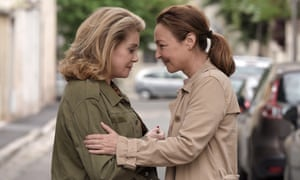 Face-off … Catherine Deneuve and Catherine Frot in Martin Provosts's The Midwife