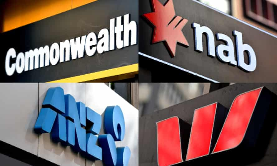signs of the big four banks