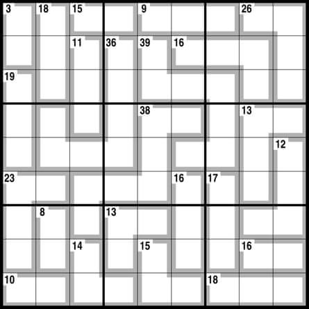 Observer killer sudoku 2.08