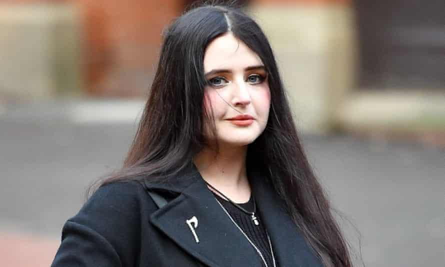 Alice Cutter seen arriving at court in December