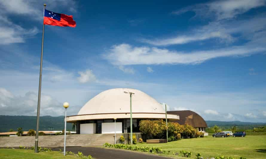 Samoa's Fale Fono - parliament house - in the capital Apia.