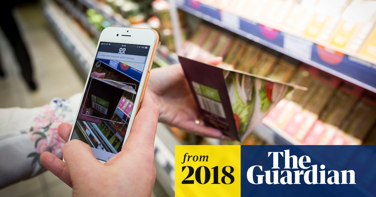 Scan and go: Co-op shoppers to avoid tills with phone app | Business