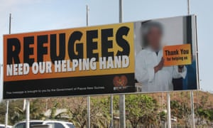 A South Asian refugee – whose identity Guardian Australia has chosen not to reveal – says he was tricked into appearing in a government advertisement supporting refugee resettlement in Papua New Guinea.
