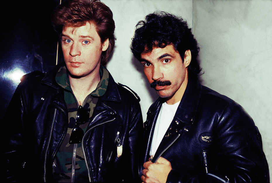 Hall and Oates in November 1981