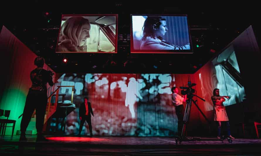Unlike any other acting gig … a rehearsal of Night of the Living Dead – Remix.