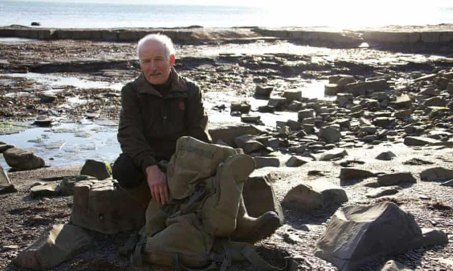 Former plumber and fossil expert Steve Etches