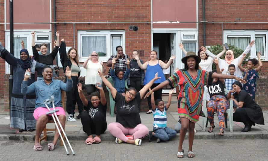 The group of women who have just won their four-year campaign to get their homes brought back into local council control in Canning Town, east London
