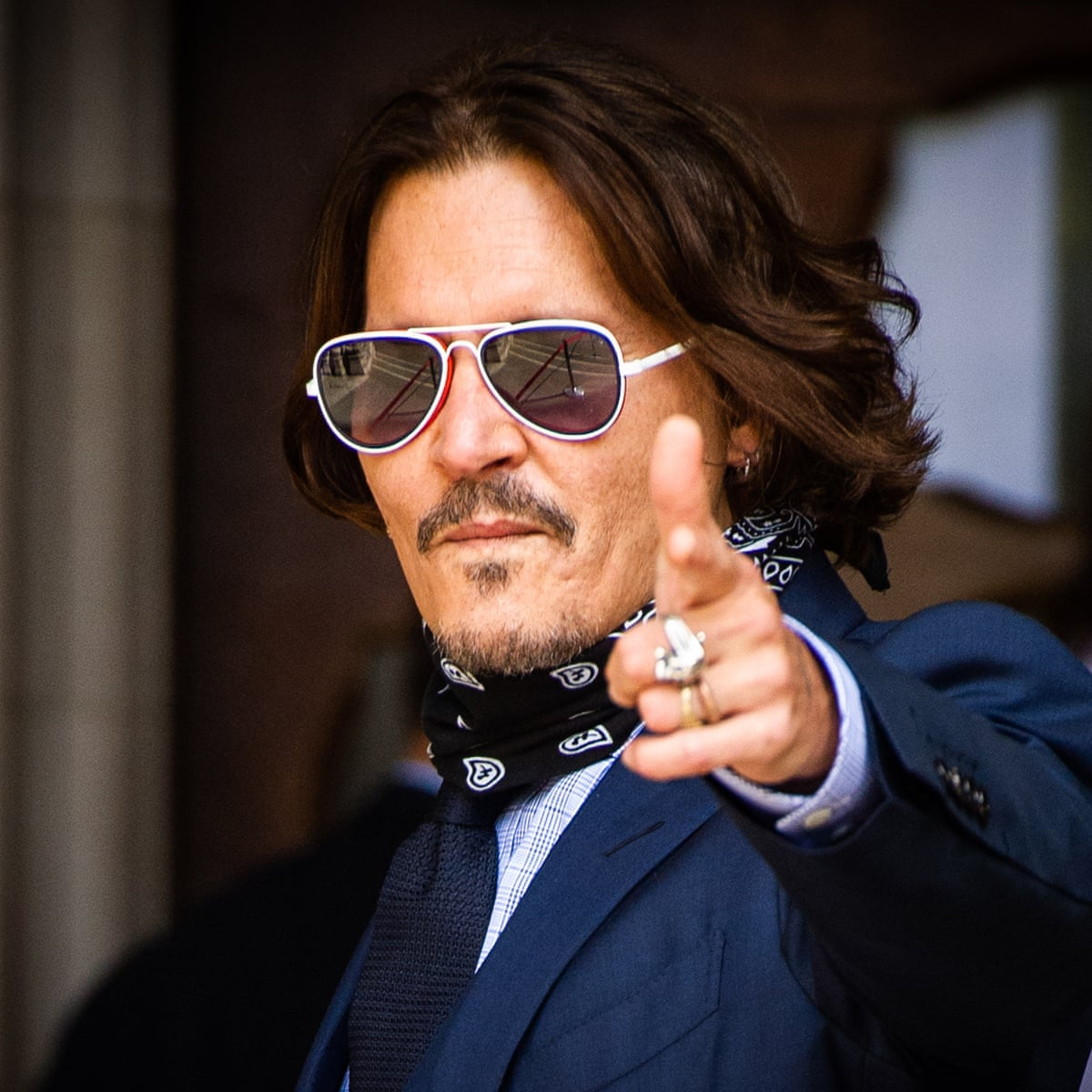 The fall of Johnny Depp: how the world's most beautiful movie star turned  very ugly | Johnny Depp | The Guardian