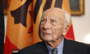 Walter Scheel in 2009; he served as a well-respected president of West Germany from 1974 until 1979.