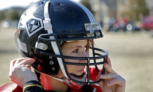 Jen Welter is believed to be the first woman to hold a coaching position of any kind in the NFL.