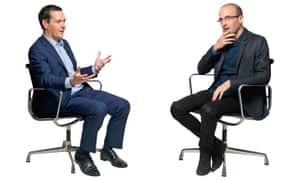 George Osborne and Yuval Noah Harari