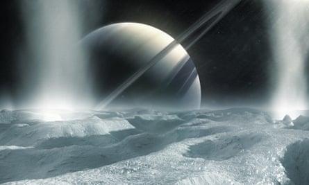 Saturn: Hawkin's favorite planet.