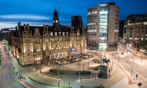 City Square, Leeds.