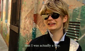 A still from the new documentary, Author: The JT LeRoy Story.
