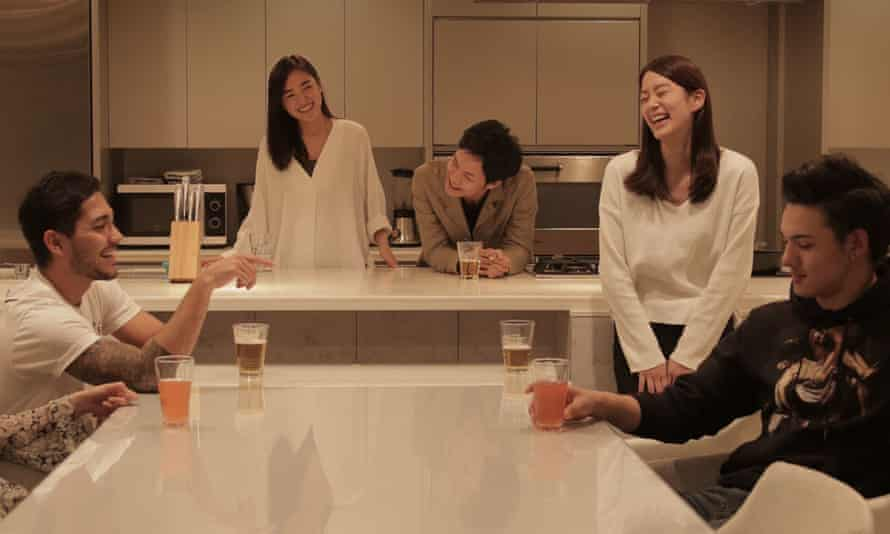 A particularly high-octane scene from Terrace House: Boys and Girls in the City