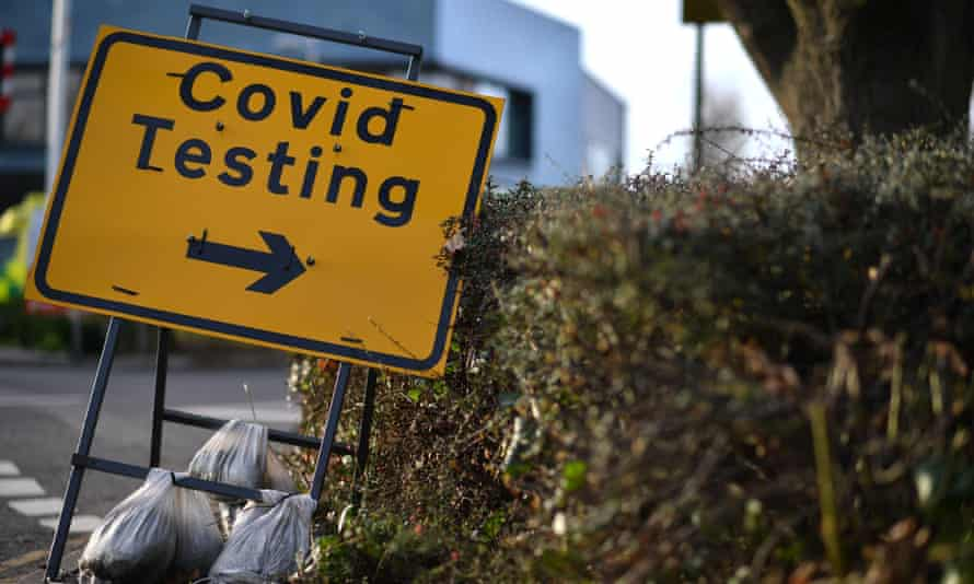 Covid testing in Rochester, Kent.