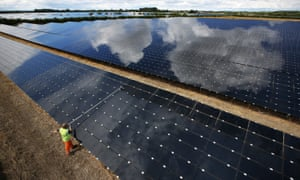 What is holding back the growth of solar power? | Guardian ... Beautiful House Designs Solar Panel Html on