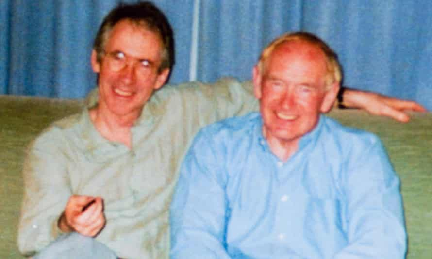 Ian McEwan with his brother David