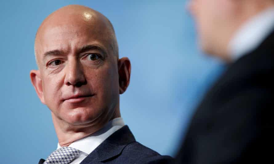In Trumpian move, Jeff Bezos reportedly orders Amazon chiefs to hit back at  critics | Amazon | The Guardian