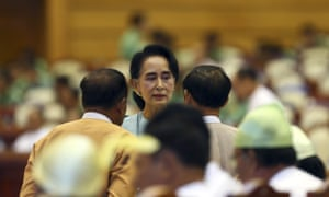 Aung San Suu Kyi's party will now be able to form a government.