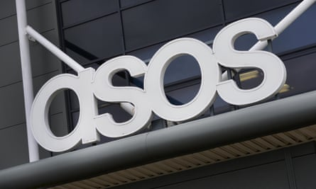 ASOS's warehouse in Barnsley, South Yorkshire.