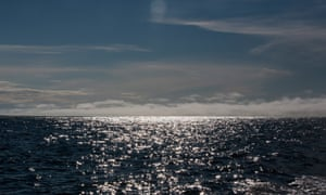 The Chukchi sea near Shishmaref, Alaska, is part of the Arctic Ocean.