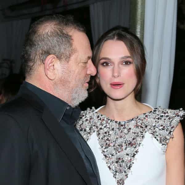 With Harvey Weinstein in 2014