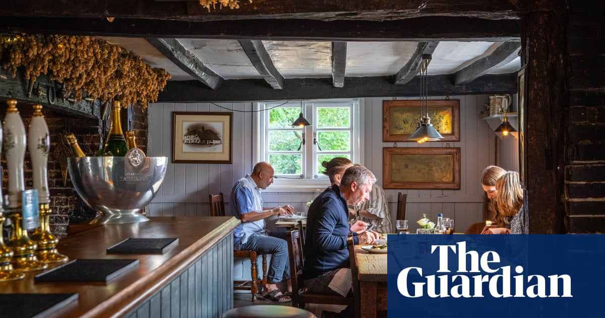 The Compasses Inn, Crundale, Kent: 'Wherever they go, I will follow' – restaurant review