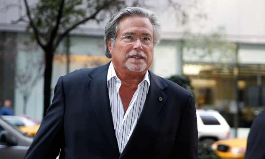 The Miami Heat owner Micky Arison.