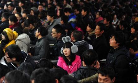 Changsha train station, China