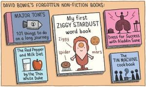 David Bowie's forgotten non-fiction books