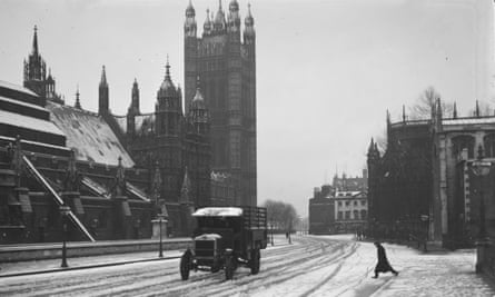 An Arctic airstream swept across the UK in 1919