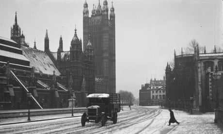 Weatherwatch: lest we forget the UK's coldest November
